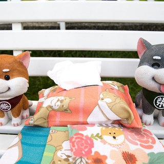 Shiba University - Tissue Cover for Box Tissue