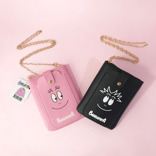 [BARBAPAPA Mr. bubble]Lightweight Portable Cute Side bag/Card answer International Genuine Authorized