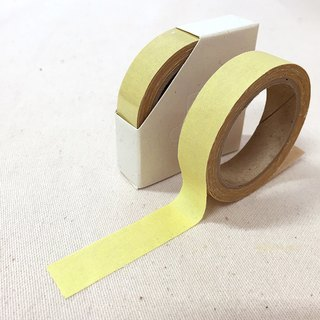 Cloth tape - Susu spring solid color [yellow]
