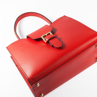 ITA BOTTEGA [Made in Italy] leather portable shoulder bag