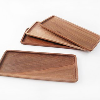 Natural solid wood storage tray / stationery storage tray / change plate / snack tray / Paraguay rosewood