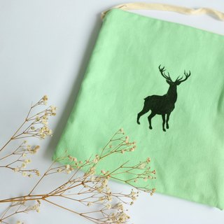 MaryWil square packet - green bucks