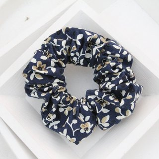 Blue small floral colon circle