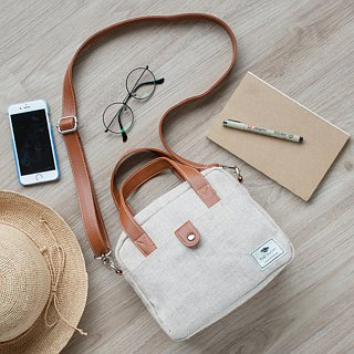 mini bag - natural