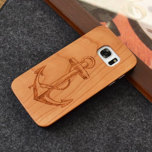 Custom-made Case For Samsung Galaxy S6 S7 Edge Note 8 Wooden Customized Case
