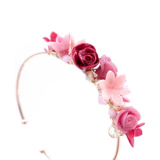 Pamycarie ROSY ROSIE Limited Edition Romantic Rose Bouquet Bracelet