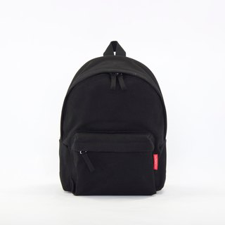 Waterproof Heavy Canvas Backpack ( Mini, A4 ) / Black / for both adults and kids