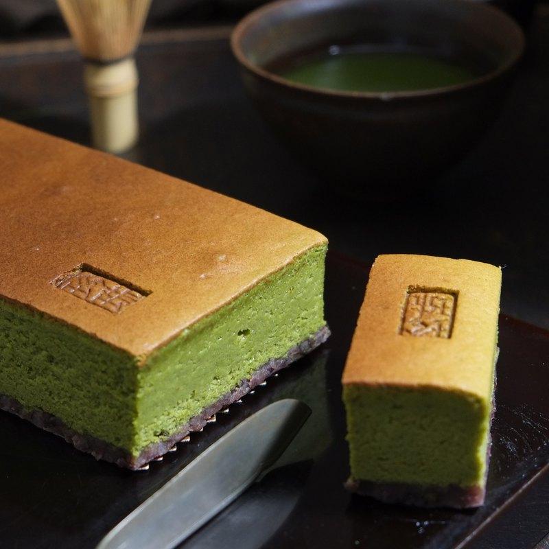 小豆抹茶蛋糕・21cmx9cm長條裝
