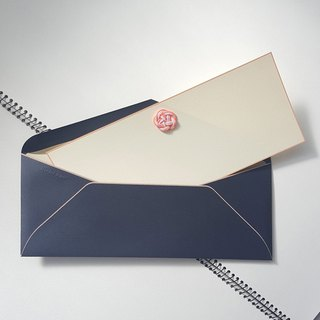 Message Card  UME HITOHIRA(a plum petal) Navy×Sakura Pink 2sets