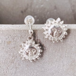 E11018 Appollo Silver 999 and 925 Earrings