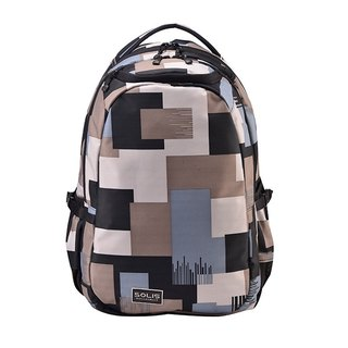 "SOLIS [ Camouflage Series ] 15"" Ultra+ basic laptop backpack(Dark grey)"