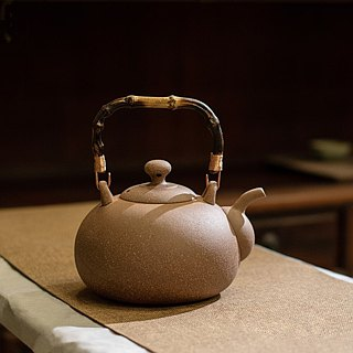 陶作坊│Old rock mud kettle