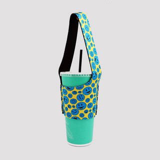 BLR Eco Beverage Bag Bag I Walk TU17 Mr Smile