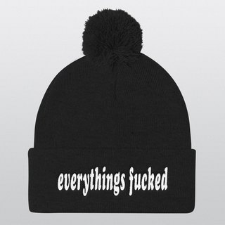 Pom Pom Hat, Beanie, Beanie Hat, Pom Pom Beanie, Instagram Prop, Gift Ideas, Christmas Gifts, Winter Hat, Photo Booth, Cool Hat, Everythings Fucked