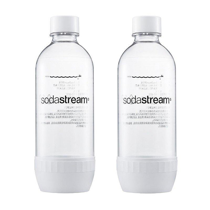 英國SodaStream 專用水瓶1L-2入組 / 白