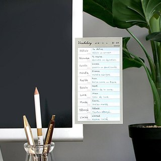 ICONIC pastel function convenience sticker - universal single word (khaki), ICO52330