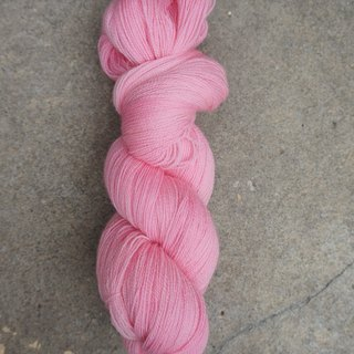 Hand-dyed lace line Pink (BFL)