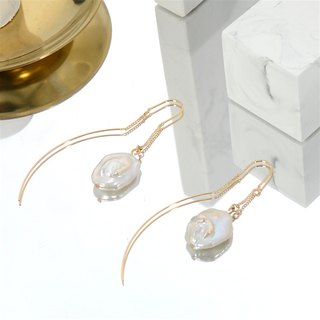 CLASSIC by nobeing Pearl Series - Natural Pearl Earrings
