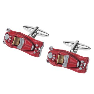 Vintage Red Car Cufflinks