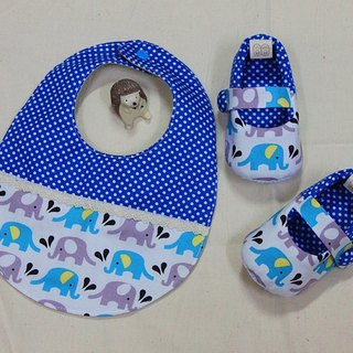 Naughty baby elephant water shoes + pocket births ceremony. Full moon ceremony
