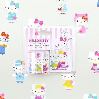 bande masking rolling sticker -- Hello Kitty's costumes ( Cute )