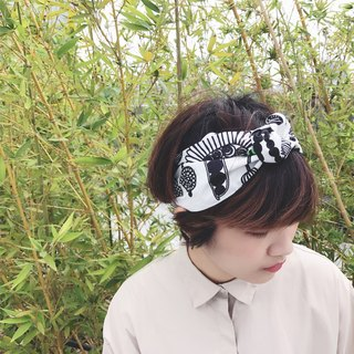 South lawn garden strap tight narrow version / handmade hair band