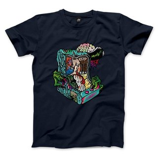 ZOMBIE - dark blue - neutral T-Shirt