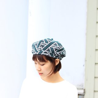 【The MAMA's Closet】Triangle(Green) / Beret