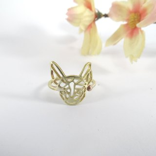 Chihuahua Geometric ring from WABY