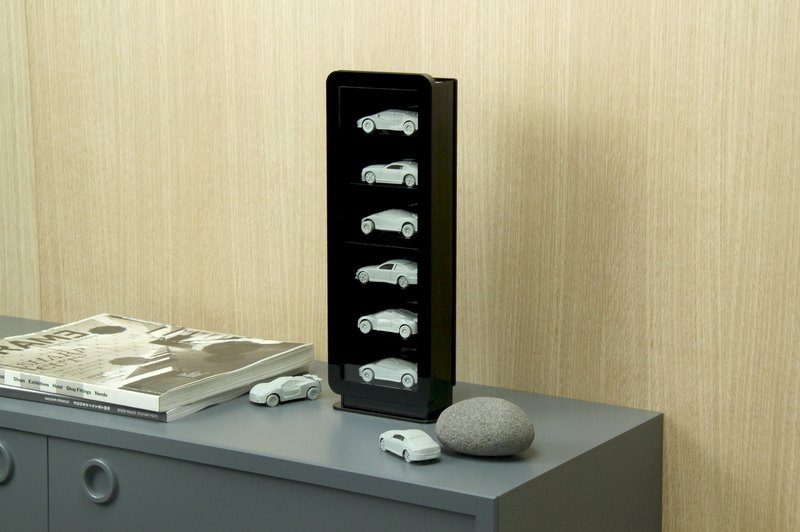 Vertical Acrylic Model Display Case - S
