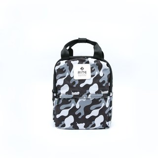 [RITE] Le Tour Series - Dual-use Mini Backpack - Grey Camouflage