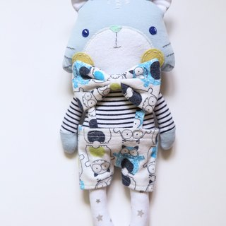 【Clothes Memorial Puppet】 cats