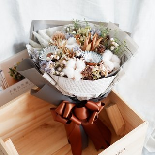 Exclusive Orders - Blue Graduation Bouquet For Wu Jie Ru