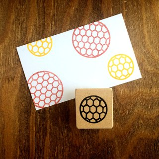 Easy to use round Japanese pattern petit eraser rubber (turtle shell)