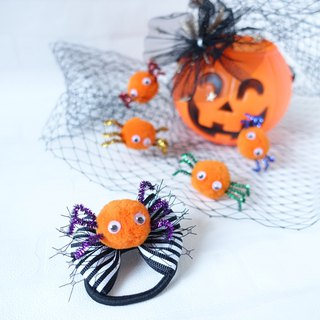 Halloween Spider Hair Ties Accessories