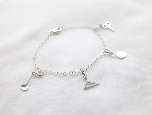 ni.kou sterling silver bracelet everyday stationery tablespoons (removable)
