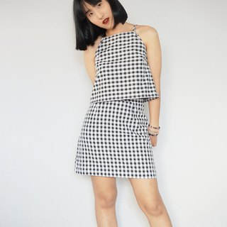 Gingham two piece co ord matching set 2