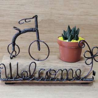 Welcome Handmade Ornaments ‧ Succulents