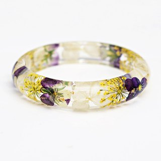 FlowerSays / Tokyo Corydalis suaveolens Hance Real Flower Bracelet / Three-Color Collection / Eternal Flowers / Bracelet
