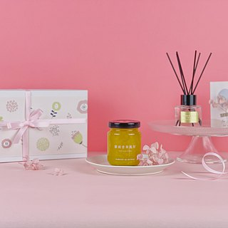 Fruit man │ luxury jam gift box [four into] Mid-Autumn Festival gift box teacher's day gift box
