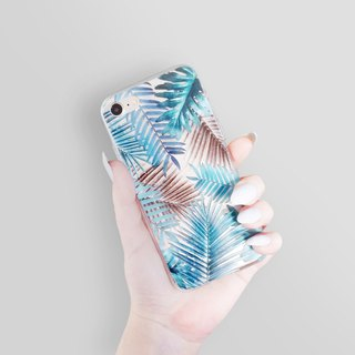 Tropical iPhone 8 Case Clear iPhone 7 Case Clear iPhone 7 Plus Clear Case Gift