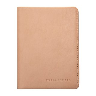 CONQUEST Passport Clip _Tan / Original Leather