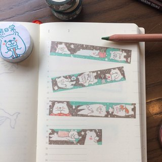 Bear daily paper tape