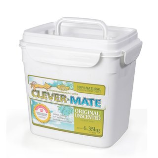 CEVER-MATE Certified Cat Litter Added as a Filtration Wine - Unscented (6.35 kg / barrel included)