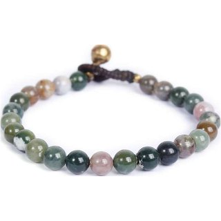 COLORED STONE BEADS MATERIAL BRACELET