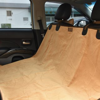 Pet special car rear mat (line) about 155X135cm