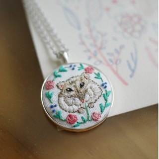 Exclusive Order - Hamster Embroidery / Table