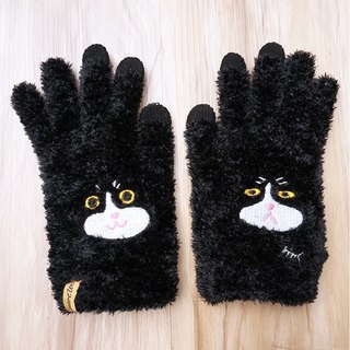 Benz cat touch gloves