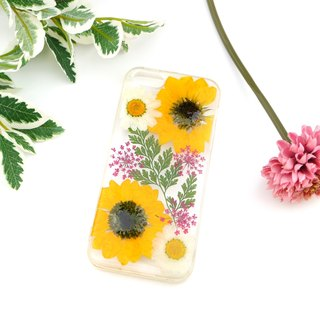 Pressed Real flower phone case - for iphone 5/5s/SE/6/6s/6 plus/6s plus/7/7plus