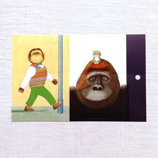 Anthony Brown - Gorilla + Willie - Card sticker